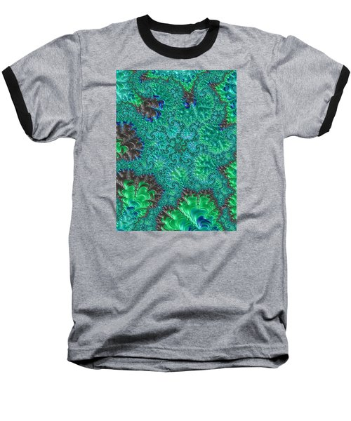 Blue Starfish Baseball T-Shirt