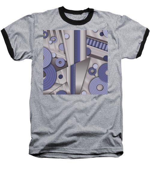 Blue Steel Baseball T-Shirt by Tara Hutton