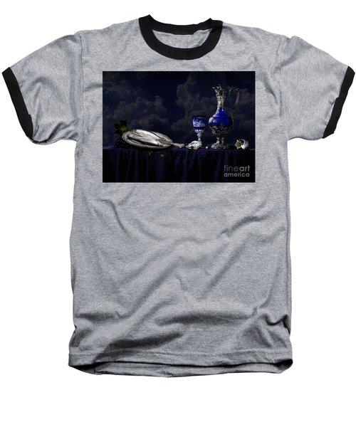 Still Life In Blue Baseball T-Shirt