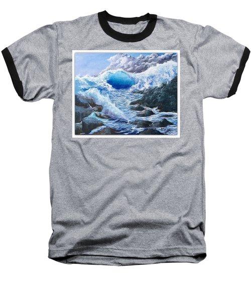 Blue Storm Baseball T-Shirt