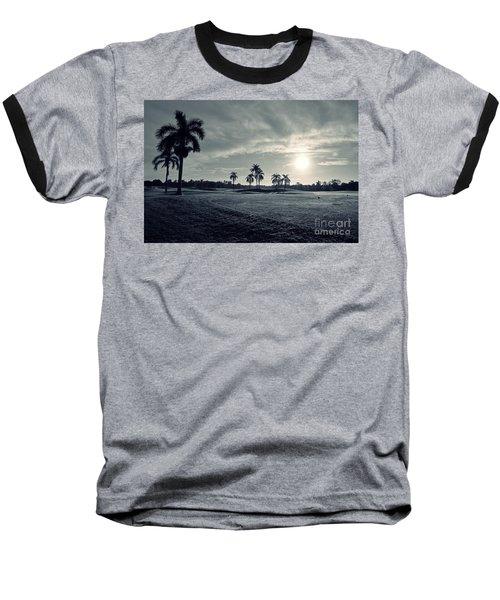 Blue Sunrise Baseball T-Shirt