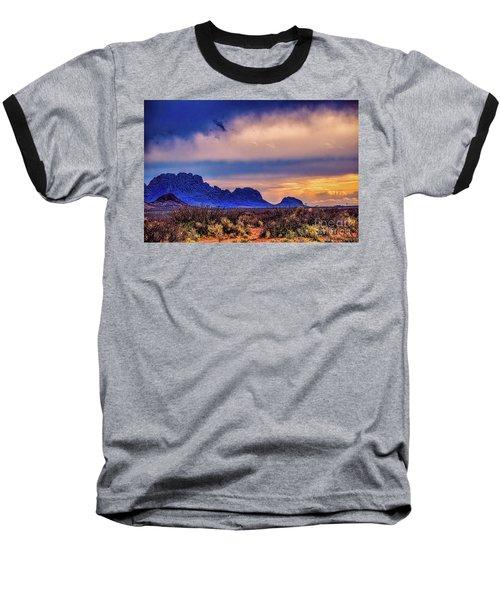 Blue Sunset Nm-az Baseball T-Shirt