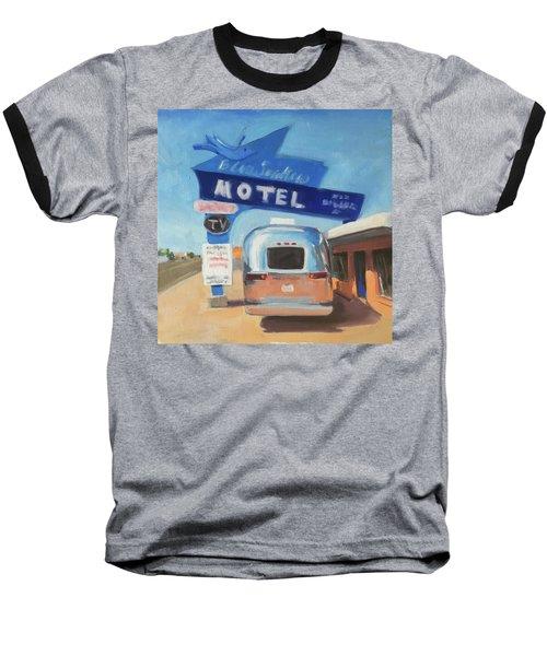 Blue Swallow Motel Baseball T-Shirt