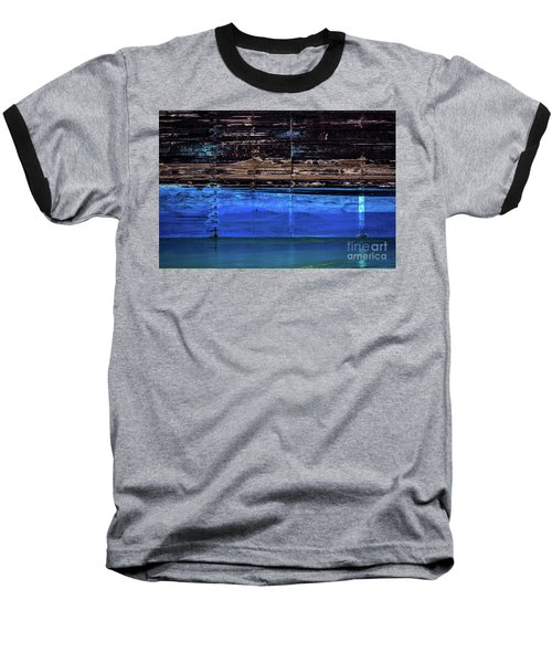Blue Tanker Baseball T-Shirt