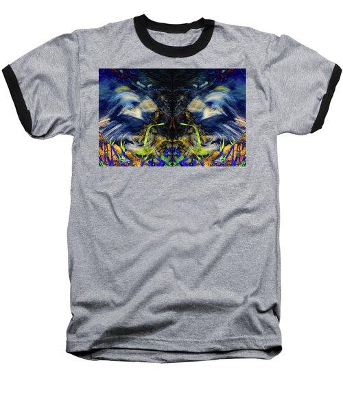 Blue Tigers Devil Baseball T-Shirt