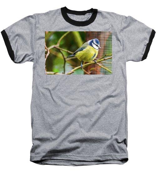 Blue Tit Baseball T-Shirt