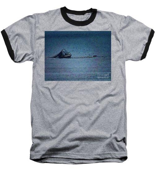 Blue Trawler 1 Baseball T-Shirt