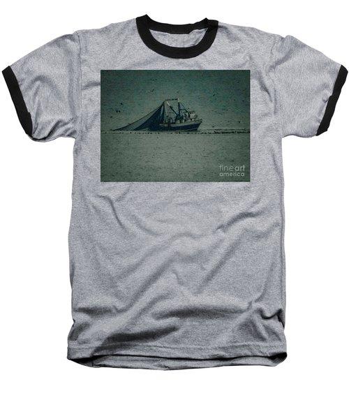 Blue Trawler 3 Baseball T-Shirt