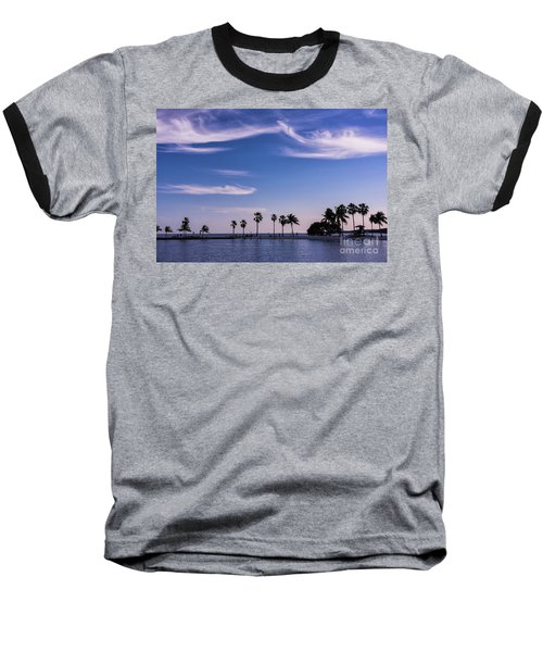 Blue Tropics Baseball T-Shirt