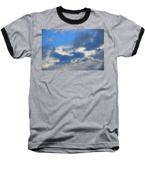 Blue Two Baseball T-Shirt by Jesse Ciazza