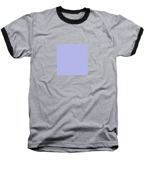 Blue Ultra Soft Lavender Colour Palette Baseball T-Shirt