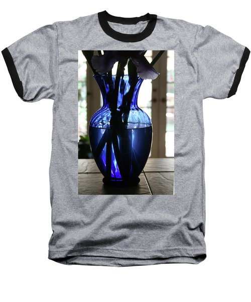 Blue Vase Baseball T-Shirt