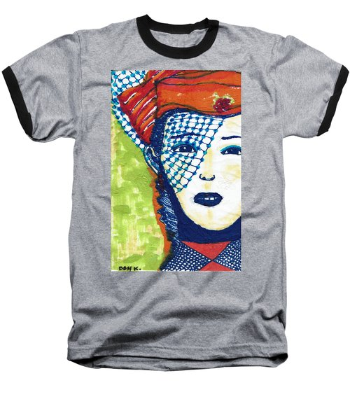 Blue Veil Baseball T-Shirt by Don Koester