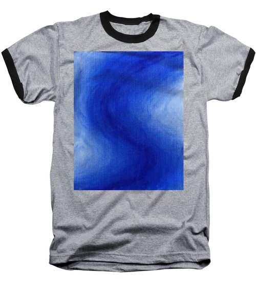 Blue Vibration Baseball T-Shirt