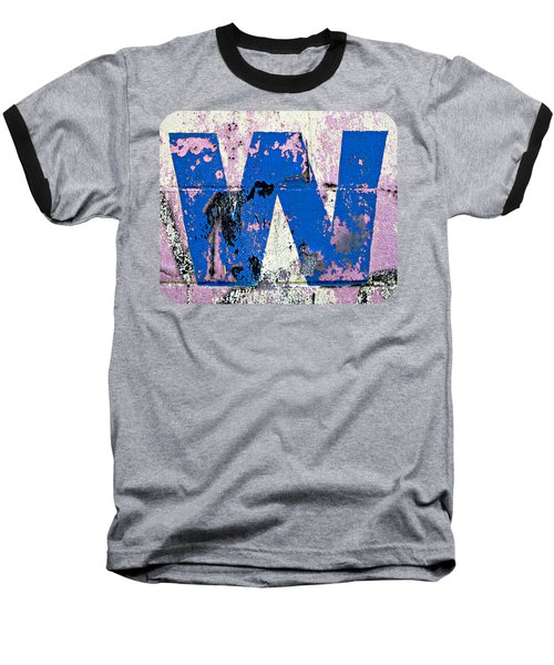Blue W Baseball T-Shirt