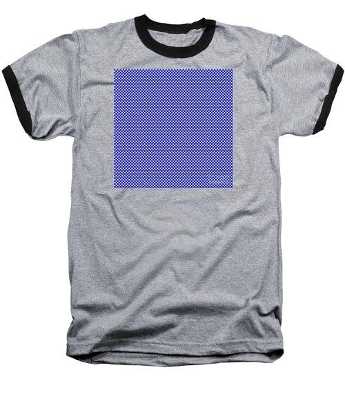 Blue Weave Baseball T-Shirt