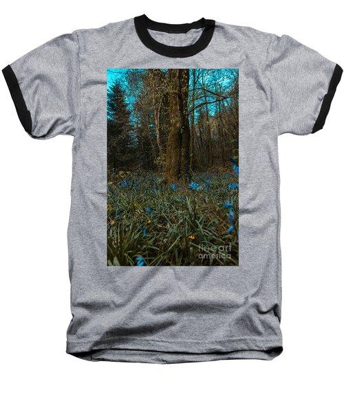 Bluebells In Lismore Forest 2 Baseball T-Shirt