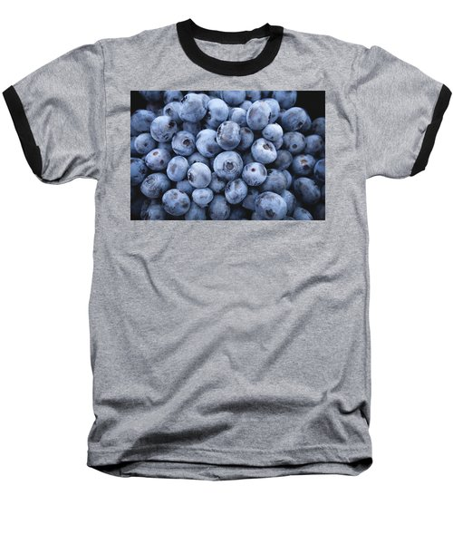 Blueberries Baseball T-Shirt by Happy Home Artistry