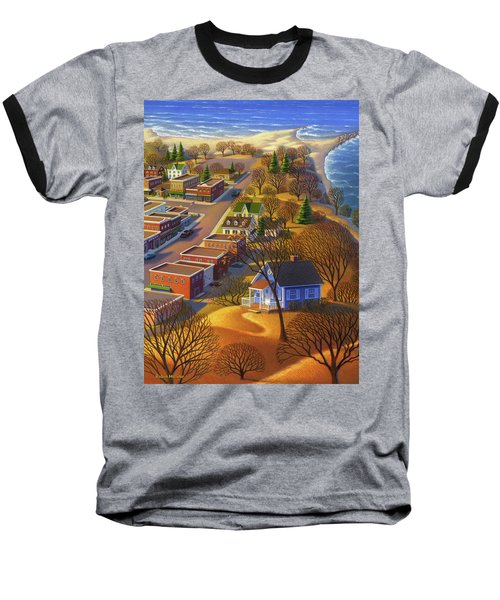 Blueberry Cottage Hill  Baseball T-Shirt