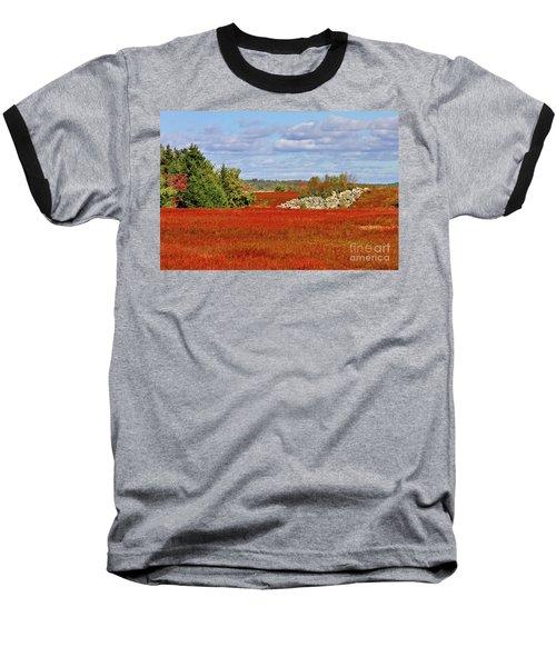 Blueberry Field Baseball T-Shirt