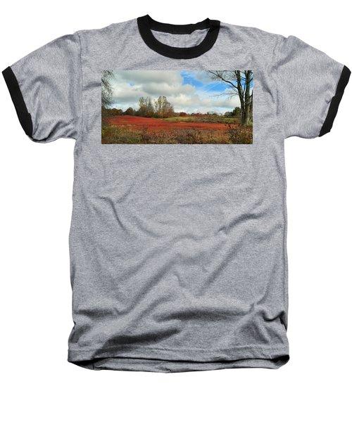 Blueberry Fields Baseball T-Shirt by Jewels Blake Hamrick