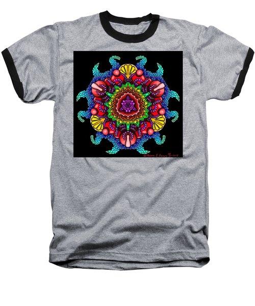 Blueberryflower Baseball T-Shirt