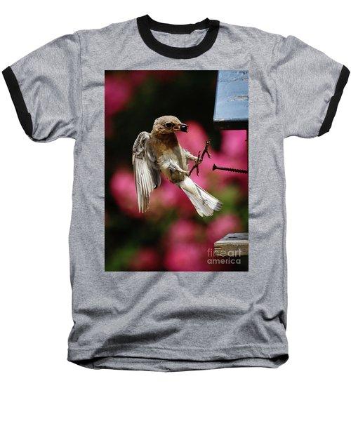 Baseball T-Shirt featuring the photograph Bluebird 0726162 by Douglas Stucky