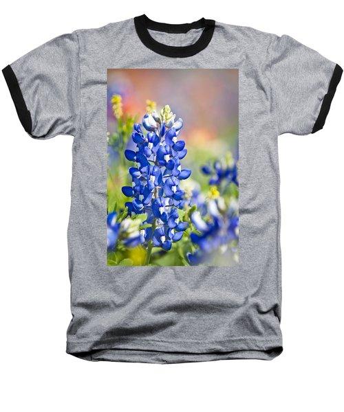 Bluebonnet 1 Baseball T-Shirt