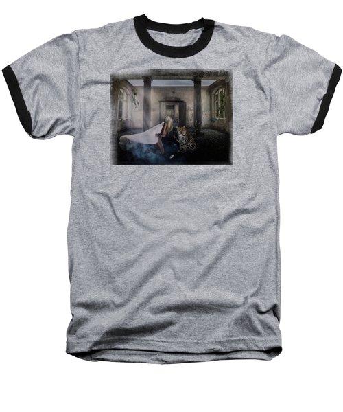 Bluebonnet Hall Baseball T-Shirt by Terry Fleckney
