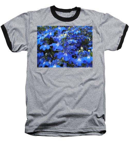 Bluer Than Blue Baseball T-Shirt