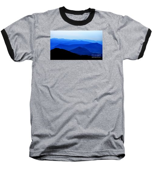 Blueridge Mountains - Parkway View Baseball T-Shirt