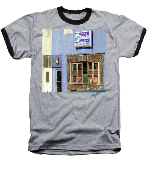 Blues Alley, Clarksdale Baseball T-Shirt