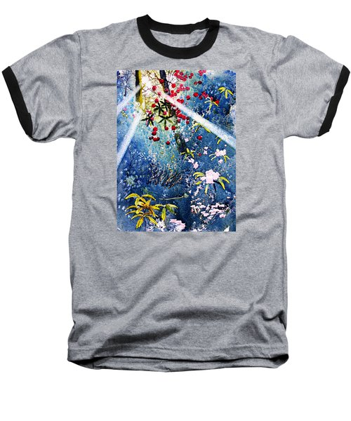 Blues And Berries Baseball T-Shirt