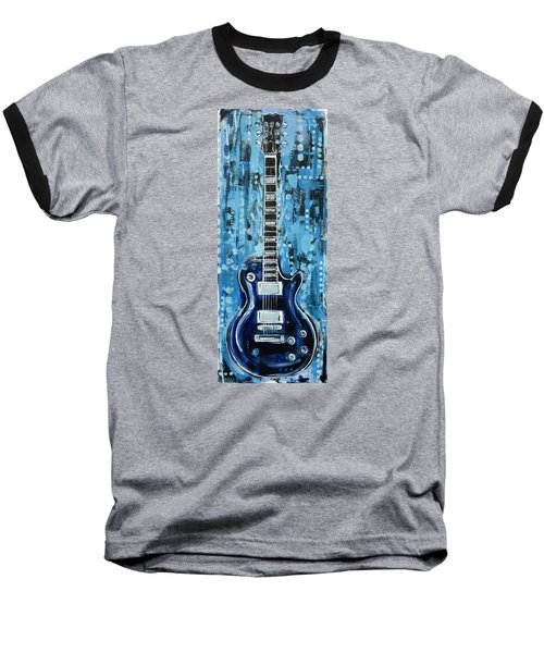 Blues Guitar Baseball T-Shirt