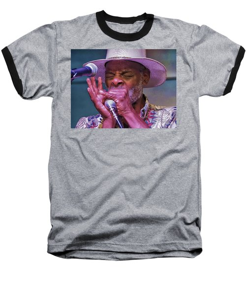 Blues Harp Baseball T-Shirt