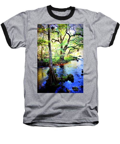 Blues In Florida Swamp Baseball T-Shirt