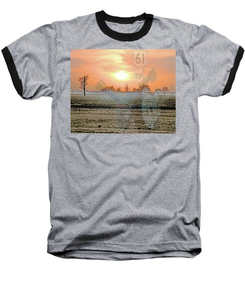 Blues Trail Baseball T-Shirt