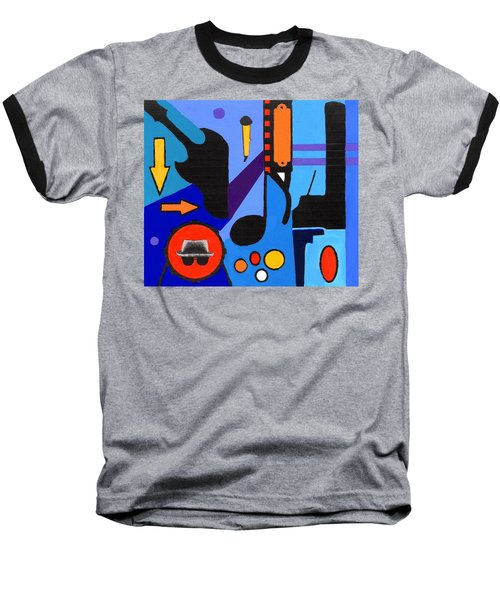 Blues1 Baseball T-Shirt