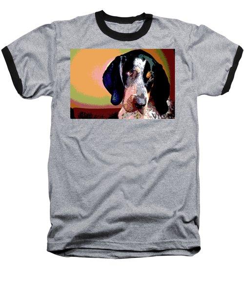 Bluetick Coonhound Baseball T-Shirt