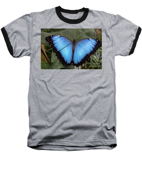 Blue Morph Baseball T-Shirt