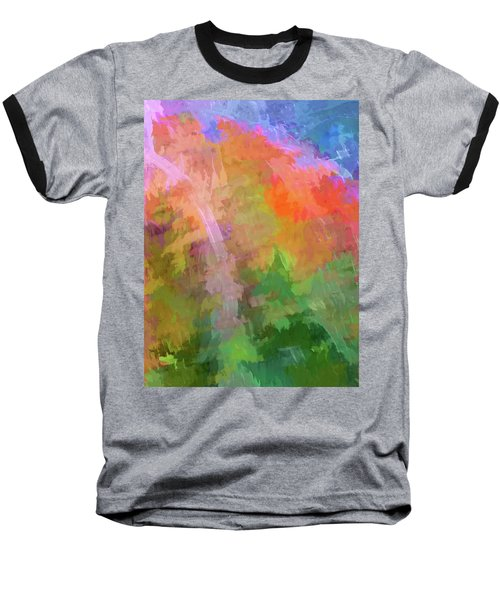 Blurry Painting Baseball T-Shirt