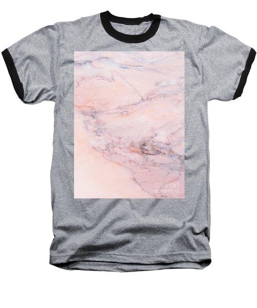 Blush Marble Baseball T-Shirt