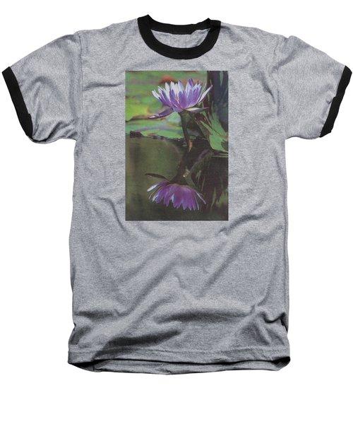 Blush Of Purple Baseball T-Shirt by Suzanne Gaff