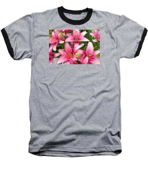 Blush Of The Blossoms Baseball T-Shirt
