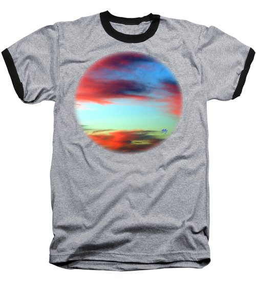 Blushed Sky Baseball T-Shirt