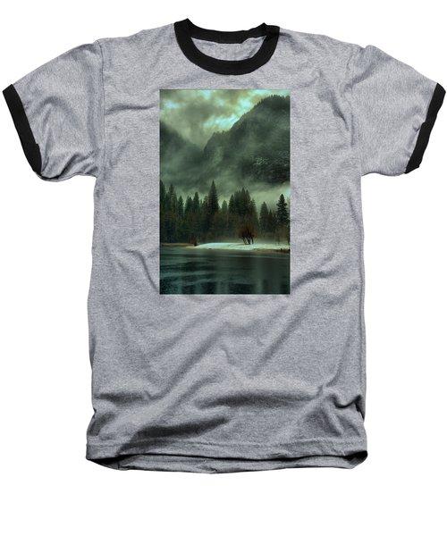 Blustery Yosemite Baseball T-Shirt