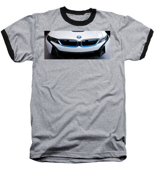 Baseball T-Shirt featuring the photograph Bmw E Drive I8 by Aaron Berg