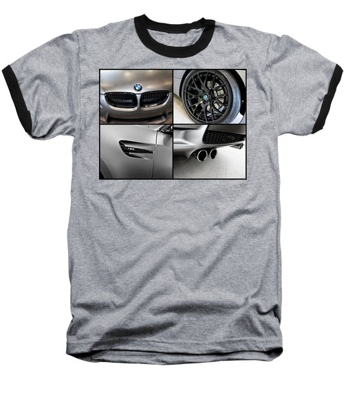 Baseball T-Shirt featuring the photograph Bmw M3 Collage by Aaron Berg