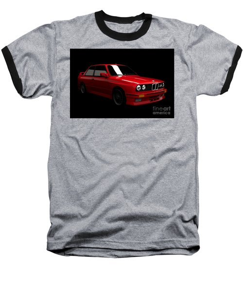 Bmw M3 E30 Baseball T-Shirt