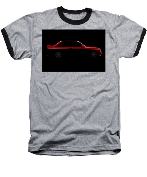 Bmw M3 E30 - Side View Baseball T-Shirt